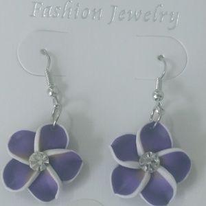 5/$25 or 3/$15 earrings purple